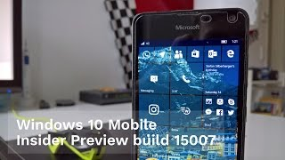 In this video we are having a closer look on the latest build of Windows 10 Mobile released for Windows Insiders on the Fast Ring.Windows 10 Mobile Insider Preview Build 15007 brings the following improvements and fixes:Apps- 0:46 Get Help- 1:09 View 3D PreviewSettings- 2:35 Need a Hand-Related settings- 3:58 Apps section-- 4:48 Reset Apps-- 6:45 Apps for websites- 7:30 Bluetooth and other devicesCortana- 8:35 play pause music