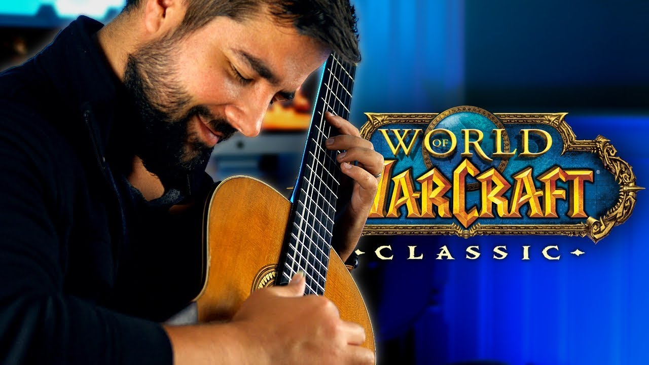 WORLD OF WARCRAFT CLASSIC – Classical Guitar Medley (Beyond The Guitar)