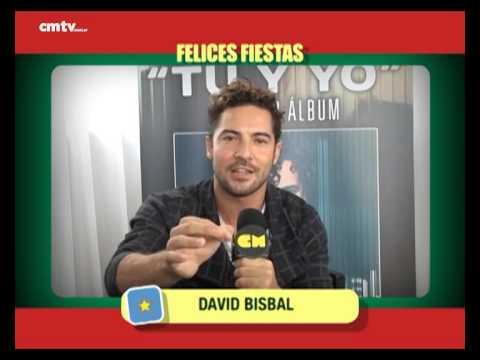 David Bisbal video Saludos  - Fiestas 2014