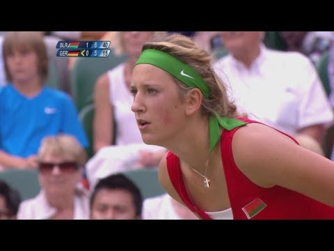 Tennis Women's Singles Quarterfinals – BLR v GER – Full Replay — London 2012 Olympic Games