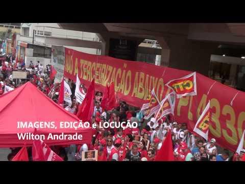 A Avenida Paulista mais uma vez foi palco da mobilização da classe trabalhadora