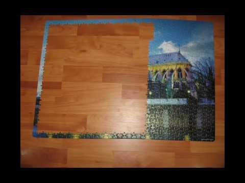 Catedrala Notre Dame - Jigsaw Puzzle cu 1000 piese - Stop Motion