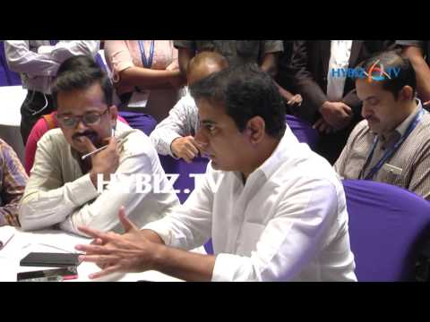 IT Minister KTR-ICT4D Conference 2017 Hyderabad