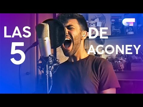 Las CINCO CANCIONES de AGONEY | OT 2017