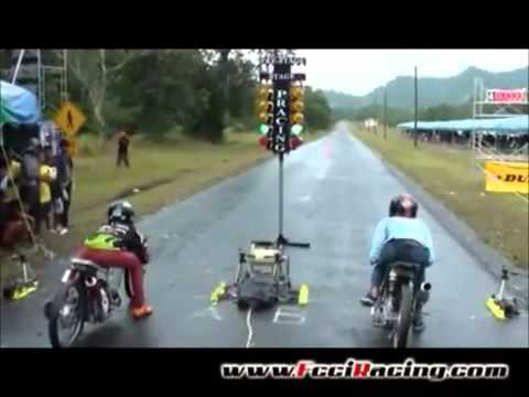 Video Lucu Drag Motor