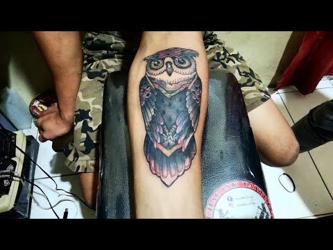 New School Tattoo Time Lapse by Chal Ink Tattoo Studio Cipondoh Tangerang
