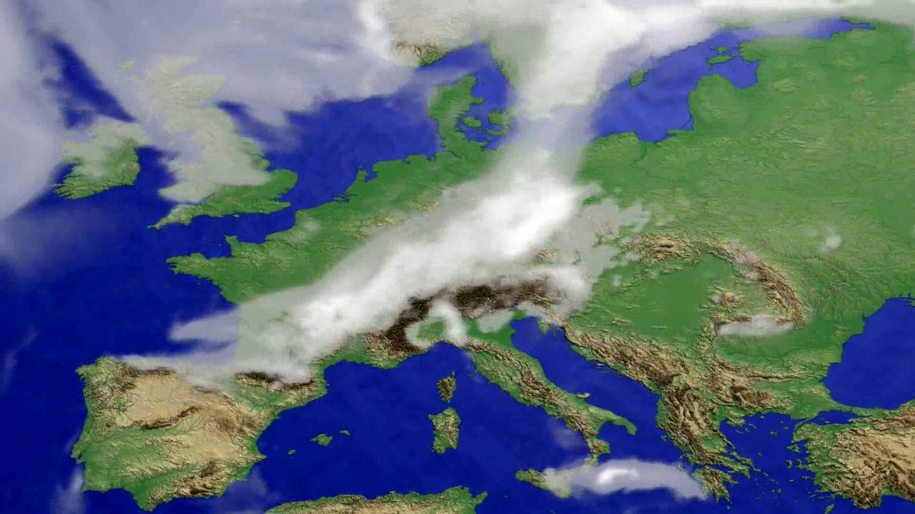 Cloud forecast Europe 2016-06-21