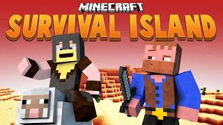 GLOWY WIZARD TOWER ★ Minecraft Survival Island (27)