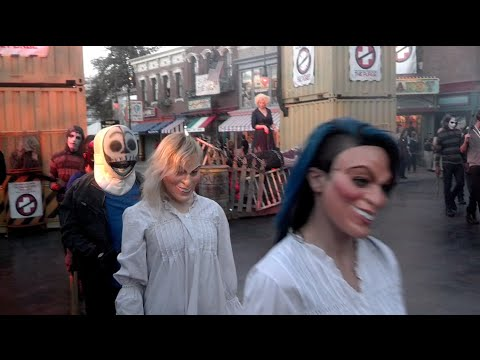 The Purge Opening Scaremony At Universal Studios Hollywood Halloween Horror Nights 2014