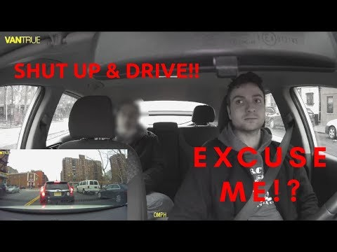 Uber Driver Does NOT Take Crap From Entitled Rider