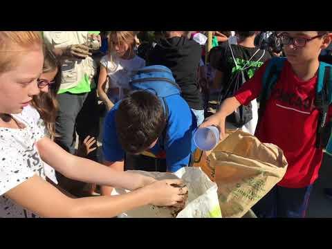 Taller de Nendo Dango en el Vivero Provincial. 20 Octubre 2017