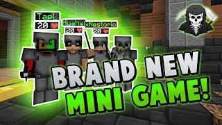 BRAND NEW ZOMBIES MINI-GAME w/TapL, xNestorio, Huahwi ( Hypixel Zombies )