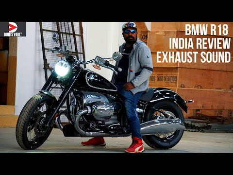 BMW R18 First Edition Unboxing India Walkaround Review Exhaust Sound Pure Soul #Bikes@Dinos