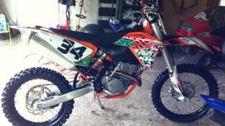 1. Riding my 2011 KTM 250 XCF-W Six Days Edition on MX1 track at Highland Park Resort in Cedartown, GA