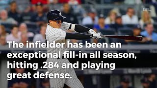 The Yankees will soon activate second baseman Starlin Castro, and that means super-sub Ronald Torreyes will go back to his utility role.