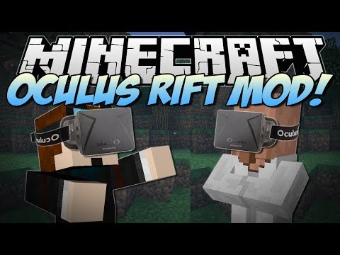 Minecraft | OCULUS RIFT MOD! (Virtual Reality Minecraft!) | Mod Showcase