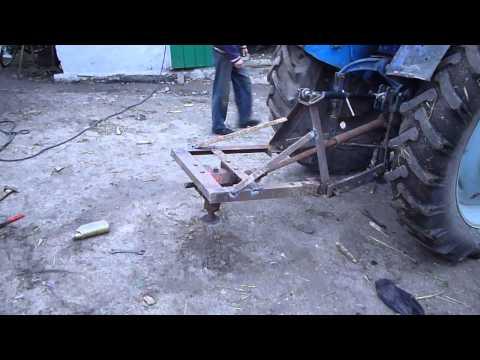 Как сделать косилку на трактор своими руками