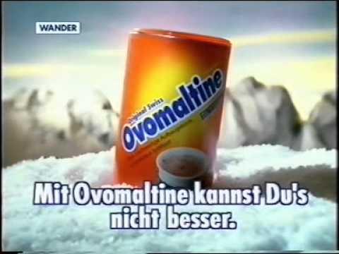 Ovomaltine-Werbung Ski