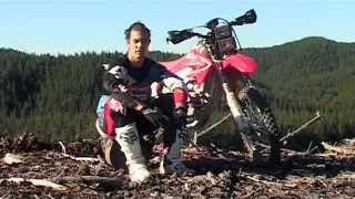 5. Honda CRF450X Baja review