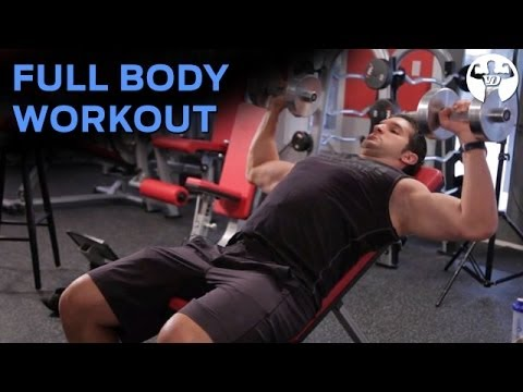 Full Body Workout #1 for Skinny Guys to Build Muscle