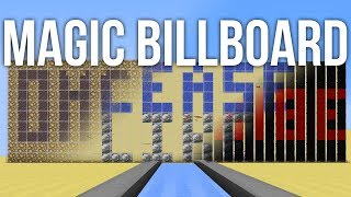 How to Make Magic Billboards in Minecraft