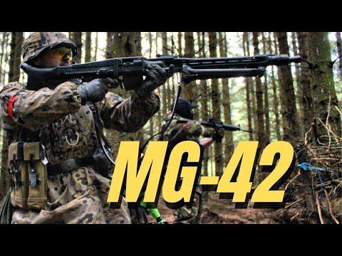 Airsoft War MG-42 MP5 MP40 Scotland HD