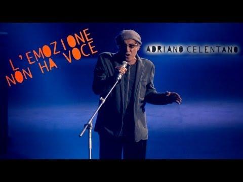 Adriano Celentano - L'emozione non ha voce (LIVE 2012) (видео)