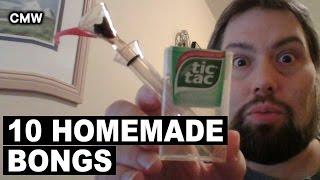 Top 10 Homemade Weed Bongs by Cannabis Marijuana Weed