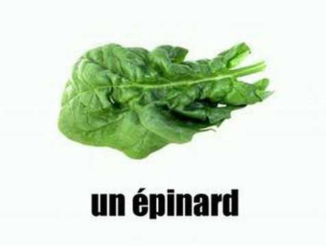 – Les légumes