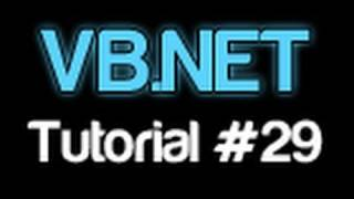 VB.NET Tutorial 29 - Comments (Visual Basic 2008/2010)