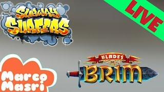 [LIVE] Subway Surfers and Blades of Brim