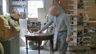 Restoring a Federal Card Table