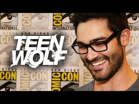 "Tyler Hoechlin ""Teen Wolf"" Talks Shirtless Scenes! Comic Con 2014"