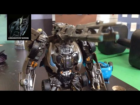Prime - Transformers age of extinction optimus prime vs lockdown stop motion: Previously Optimus prime was forced out of hiding and was caught in the middle of a fight with Galvatron. The bounty hunter...