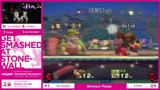 Captain Birdman (DeDeDe) VS G-Rated (Donkey Kong) – Great set from our weekly last week!