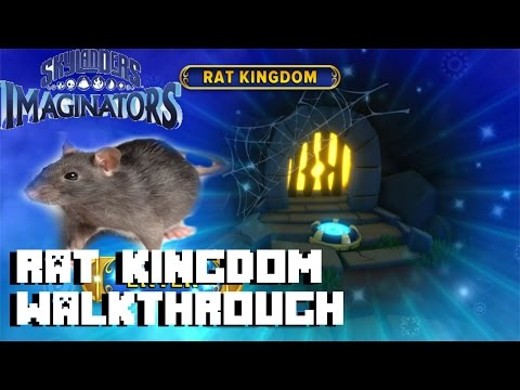 Skylanders Imaginators - Secret Level : Rat Kingdom - Gameplay Walkthrough Part 13 - 1080P HD