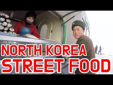 Street food in North Korea