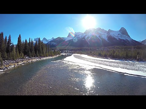 Canmore Drone Video