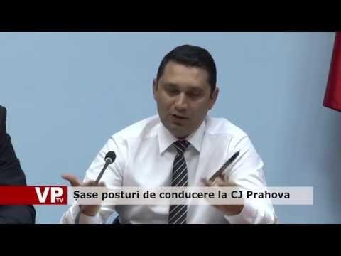 Șase posturi de conducere la CJ Prahova