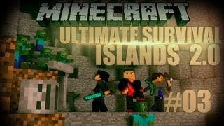 Minecraft: Ultimate Survival Islands 2.0 - Episode 3 - Castle Defenders!