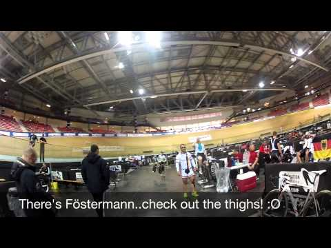 2015 Track Cycling World Championships, Part Two: Testing out the Saint-Quentin-En-Yvelines track