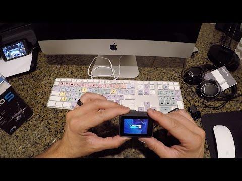 GoPro HERO5 Black Unboxing and Setup