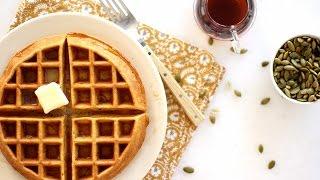 Pumpkin Waffles- Everyday Food with Sarah Carey by Everyday Food