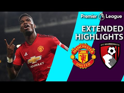 Video: Manchester United v. Bournemouth | PREMIER LEAGUE EXTENDED HIGHLIGHTS | 12/30/18 | NBC Sports