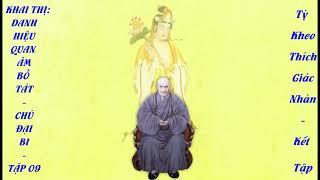 Tập 09. Tổ Sư Ấn Quang Khai Thị về Danh Hiệu Quan Thế Âm Bồ Tát và Chú Đại Bi Tập 09
