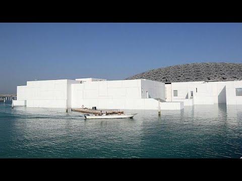 العرب اليوم - شاهد: الشرق والغرب يلتقيان في افتتاح متحف اللوفر أبوظبي