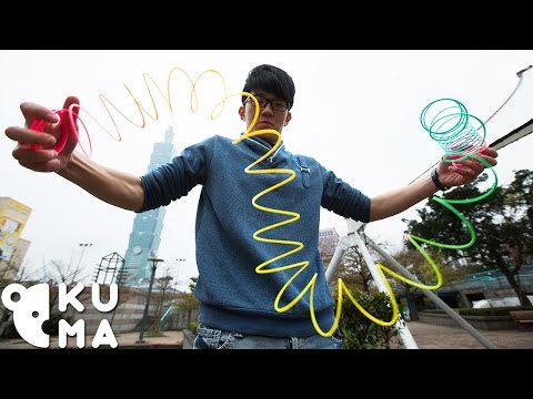 Ridiculously Cool Slinky Tricks