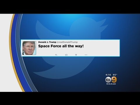 Trump's Newly Announced 'Space Force' Could Be Good For California, Expert Says