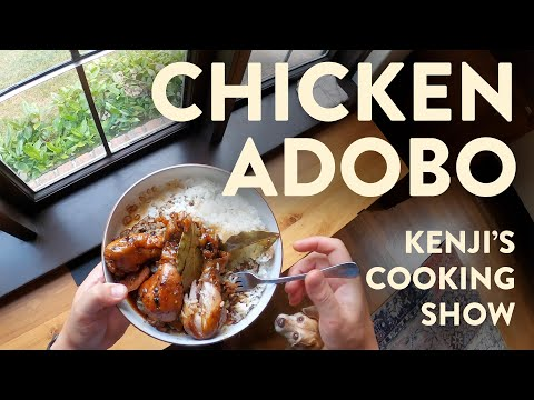 Simple Filipino Chicken Adobo | Kenji's Cooking Show