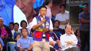 Napeñas hits Aquino anew over Mamasapano at Binay rally